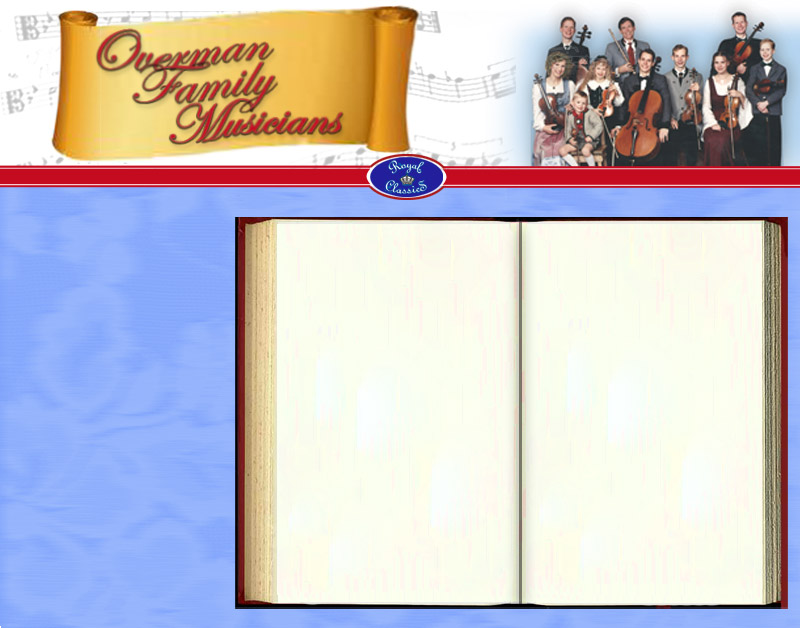 Overman Family Musicians background graphic