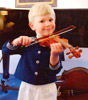overman family musicians violin picture